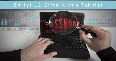 Bilgisayar Korsanları Tarafından Kullanılan En İyi 12 Şifre Kırma Tekniği